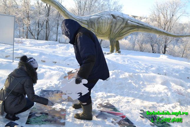 Котельнич динопарк динозавры